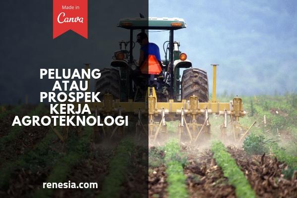 Peluang atau Prospek Kerja Agroteknologi