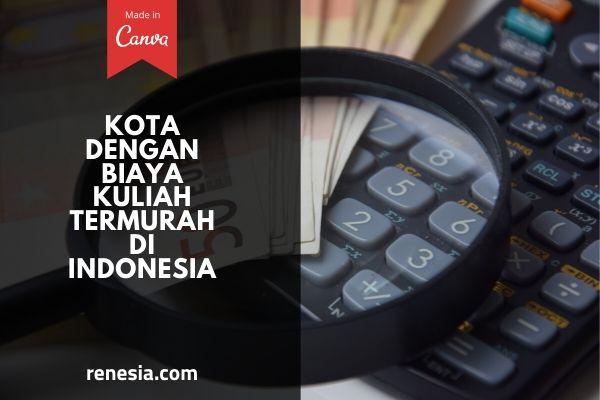 Kota Dengan Biaya Kuliah Termurah Di Indonesia