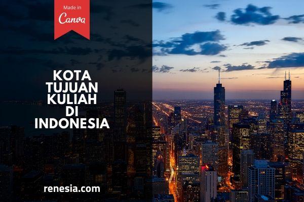 Kota Tujuan Kuliah Di Indonesia